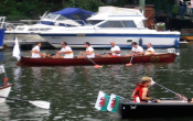 Click here to look at the Currach Quad Sculled boat package.