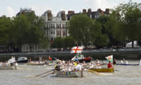 Picture two of the race at Putney.